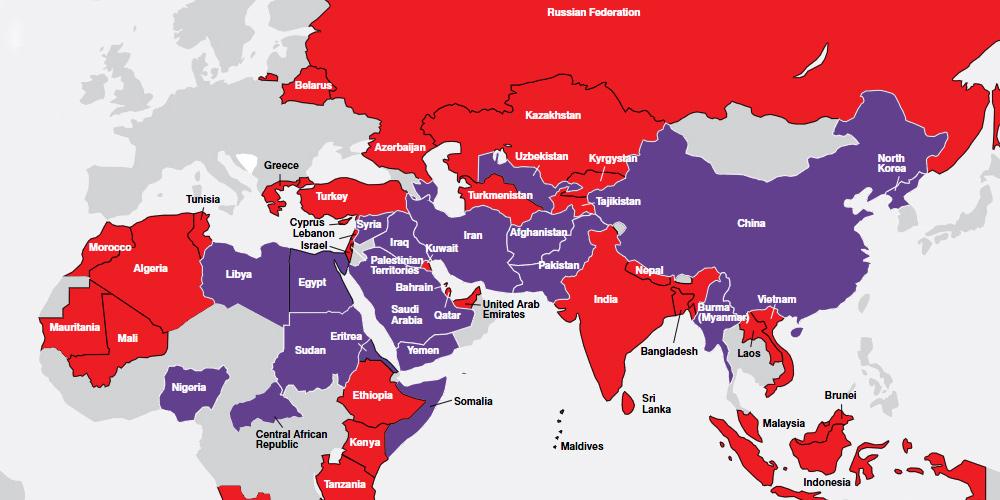Verfolgung Weltweit